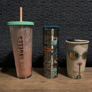 Starbucks Los Angeles Local Tumbler Collection Set